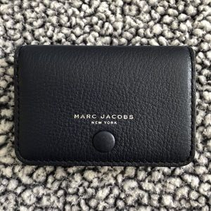 Marc Jacobs • Small Button Close Wallet • Navy